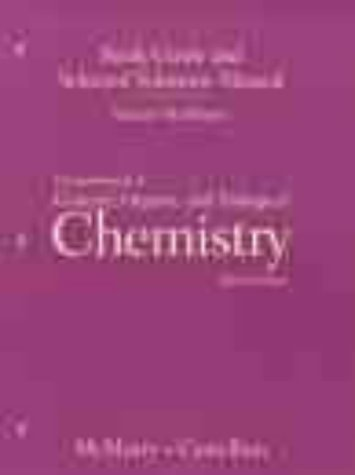9780130108982: Fundamentals of General Organic and Biological Chemistry (Study Guide)