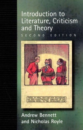 9780130109149: An Introduction to Literature, Criticism and Theory, 2nd Ed.