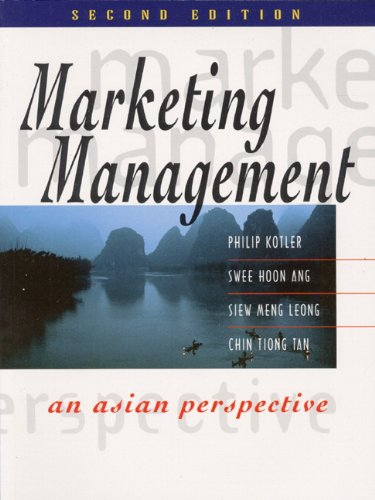 9780130109804: Marketing Management: An Asian Perspective (2nd Edition)