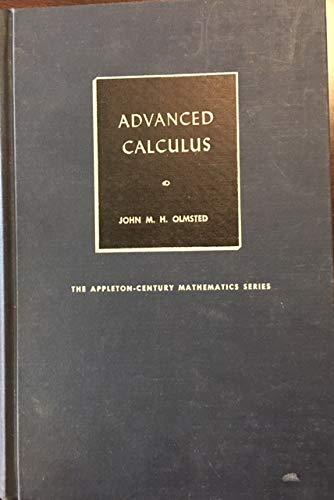 9780130109835: Advanced Calculus