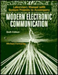 9780130109958: Laboratory Manual With System Projects to Accompany Modern Electronic Communication