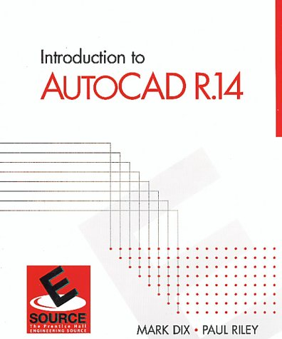 9780130110015: Introduction to Autocad R.14 (ESource)