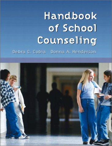 9780130110107: Handbook of School Counseling