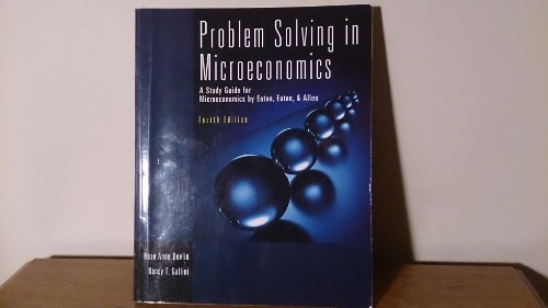 9780130110190: Problem solving in microeconomics