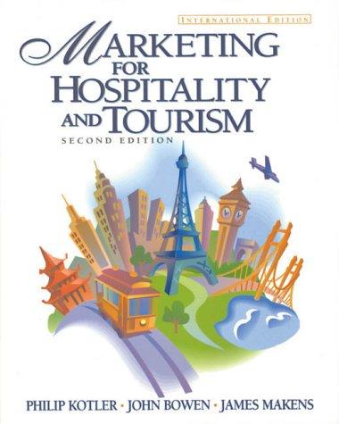 9780130110312: Marketing Hospitality and Tourism