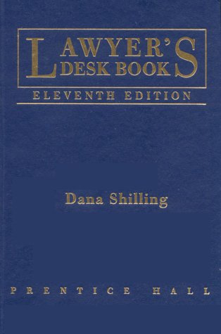 9780130110770: Lawyer's Desk Book