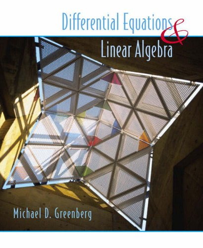 9780130111180: Differential Equations and Linear Algebra