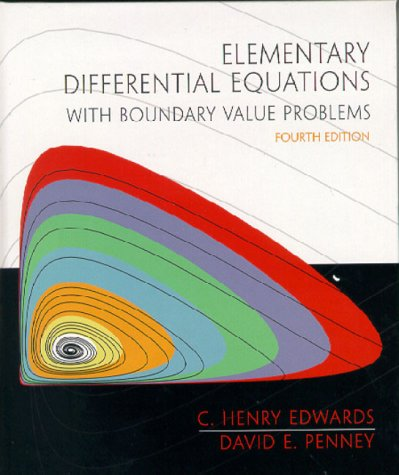 9780130113016: Elementary Differential Equations with Boundary Value Problems (4th Edition)