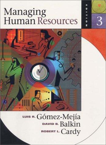 9780130113337: Managing Human Resources