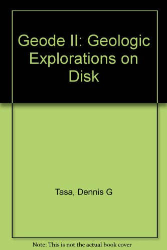 9780130113788: GEODe II: Geologic Explorations on Disk (CD-ROM)