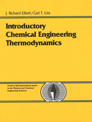 9780130113863: Introductory Chemical Engineering Thermodynamics (Prentice-Hall International Series in the Physical and Chemical Engineering Sciences)