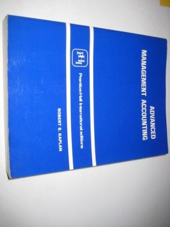9780130113955: Advanced Management Accounting
