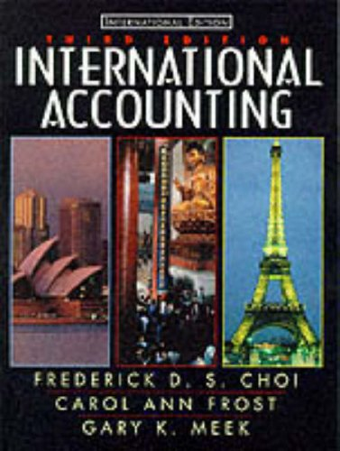 9780130114013: International Accounting