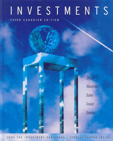 9780130114457: Investments, Canadian Edition (3rd Edition)