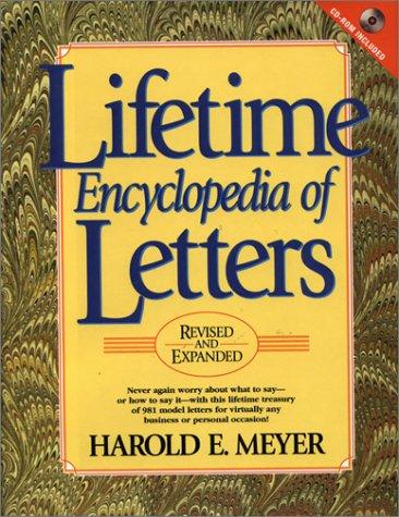 Lifetime Encyclopedia of Letters: Harold E. Meyer