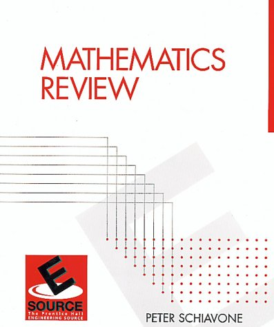 9780130115010: Mathematics Review