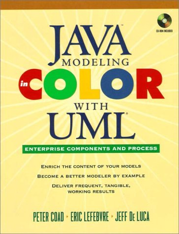 Java Modeling In Color With UML: Enterprise: Coad, Peter, de