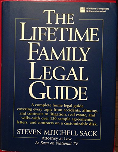 9780130115133: Lifetime Family Legal Guide
