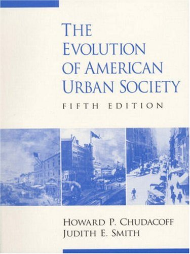 9780130115812: The Evolution of American Urban Society (5th Edition)