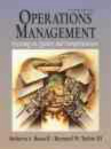 9780130116093: Production and Operations Management : Focusing on Quality and Competitiveness