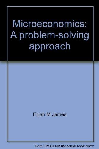 9780130116154: Microeconomics: A problem-solving approach