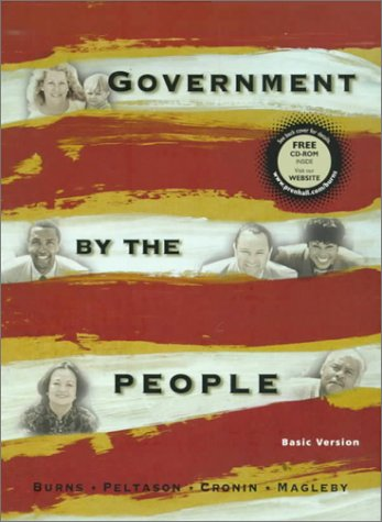 9780130116574: Government by the People, Basic Version