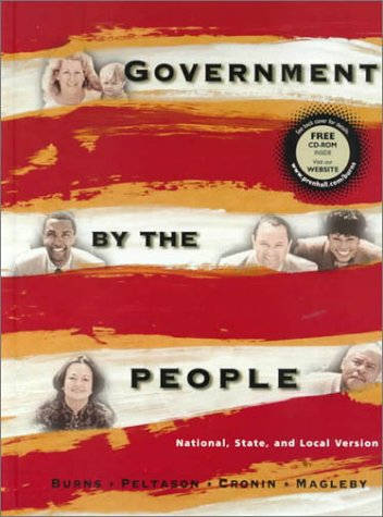9780130116581: Government by the People, National, State, Local Version: National, State, and Local Version