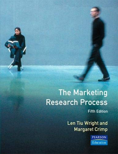 9780130117533: The Marketing Research Process, 5th Ed.