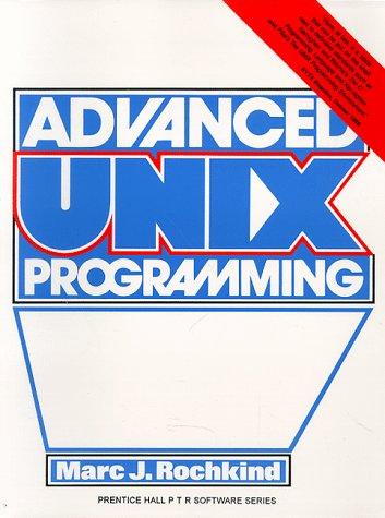 9780130118004: Advanced Unix Programming
