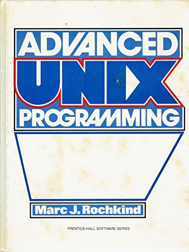 9780130118189: Advanced Unix Programming