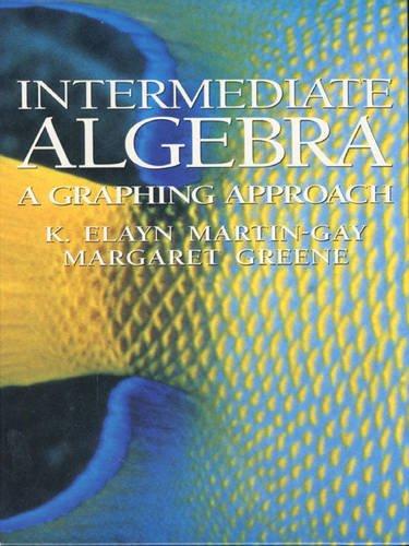 9780130118257: Intermediate Algebra: Graphing & Charles Cc Trig Pkg