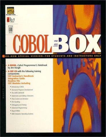 9780130119209: Cobol in a Box
