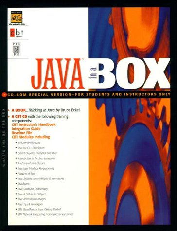9780130119315: Java in a Box