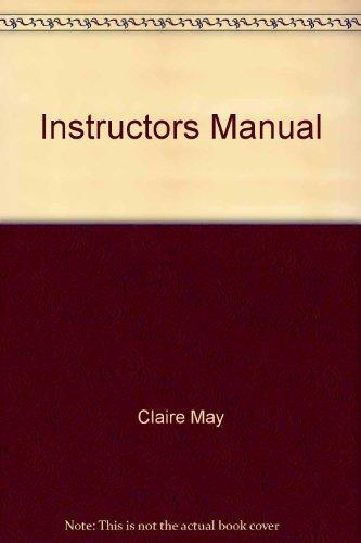 9780130119872: Instructors Manual