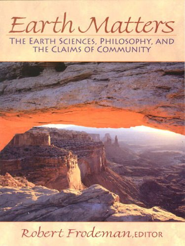 9780130119964: Earth Matters: Philosophy and Geology