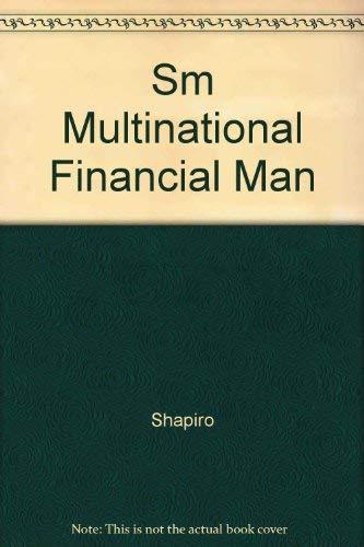 9780130120922: Sm Multinational Financial Man