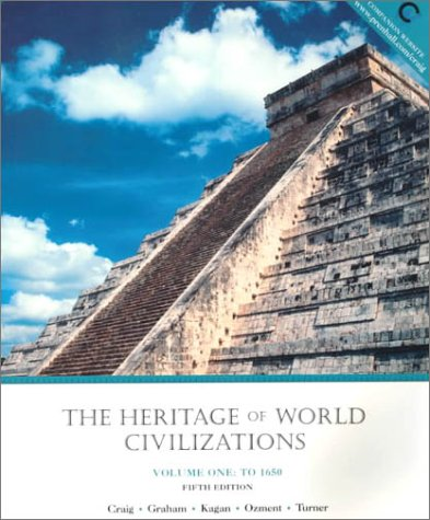 9780130124531: The Heritage of World Civilization, Volume I: To 1650 (5th Edition)
