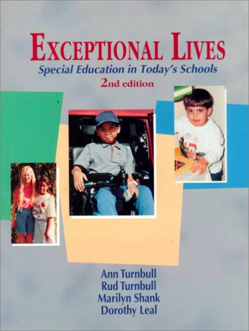 9780130124838: Exceptional Lives: Special Education in Today's Schools