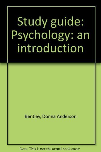 9780130124852: Study guide: Psychology: an introduction