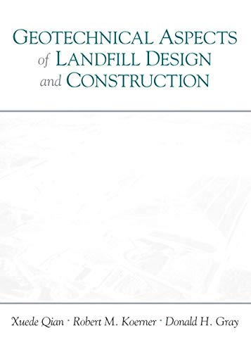 9780130125064: Geotechnical Aspects of Landfill Design and Construction: GEOTECHNICAL ASPECTS LANDF _c
