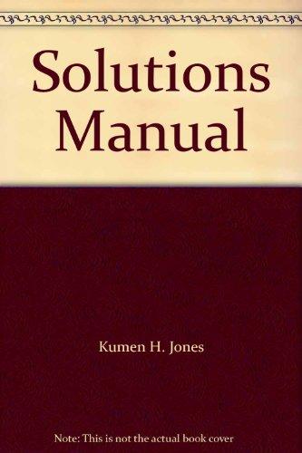 9780130125477: Solutions Manual