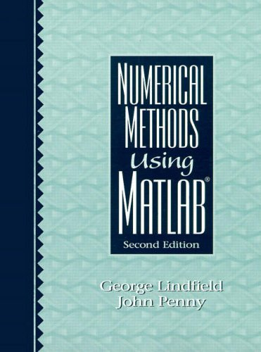 9780130126412: Numerical Methods Using MATLAB (2nd Edition)