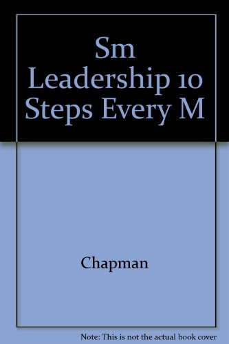 9780130128416: Leadership: Essential Steps Every Manager Needs to Know