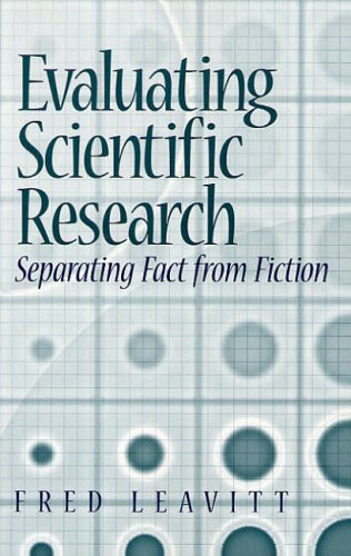 9780130128454: Evaluating Scientific Research: Seperating Fact from Fiction