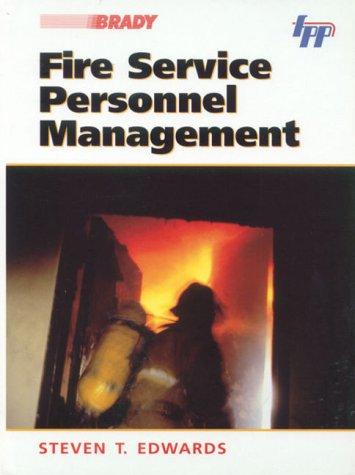 9780130128850: Fire Service Personnel Management