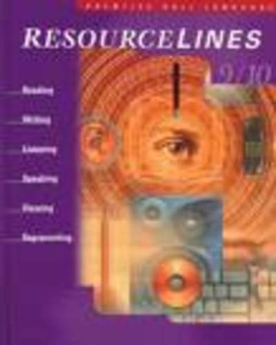 9780130129222: Resourcelines 9/10