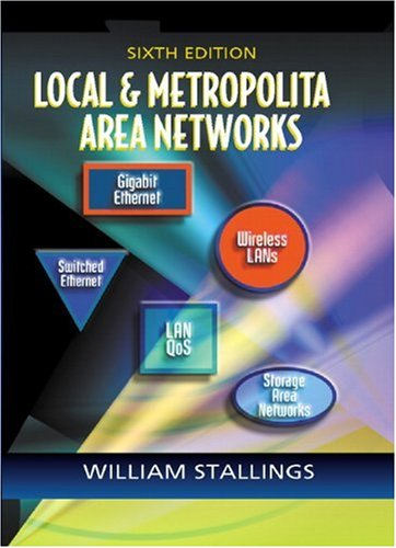 9780130129390: Local and Metropolitan Area Networks (6th Edition)