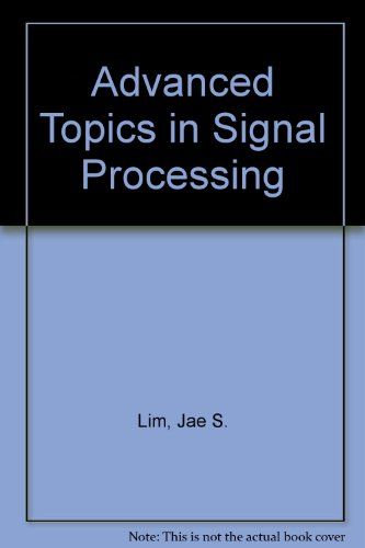 9780130129802: Advanced Topics in Signal Processing