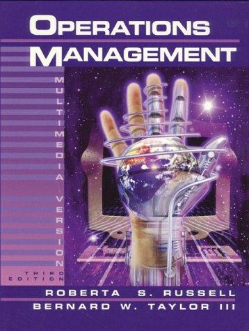 9780130130921: Operations Management: Multimedia Version