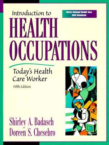 9780130131478: Introduction to Health Occupations: Today's Health Care Worker (5th Edition)